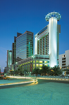 Abu Dhabi Trade Centre (now Abu Dhabi Mall and The Beach Rotana Hotel)