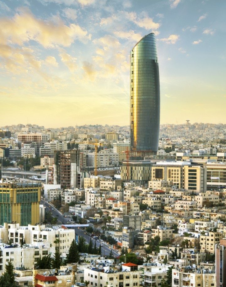 Amman Rotana Hotel Is A 5 Facility Located In The Newly Developed Downtown Al Abdali District