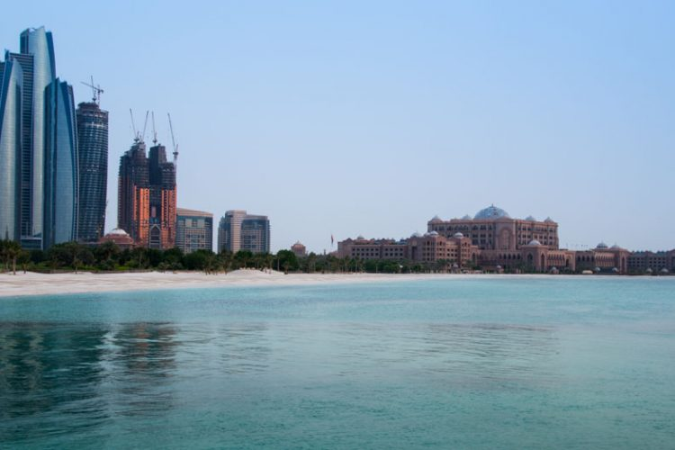shutterstock Etihad Towers and Emirates Palace supersize