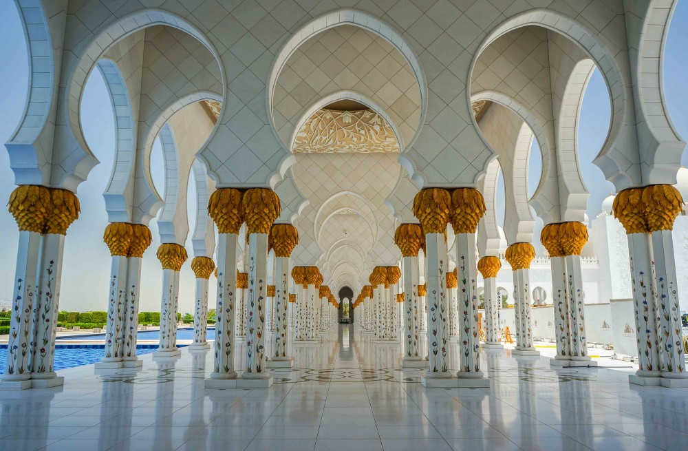 Sheikh Zayed Grand Mosque Arabian Construction Company